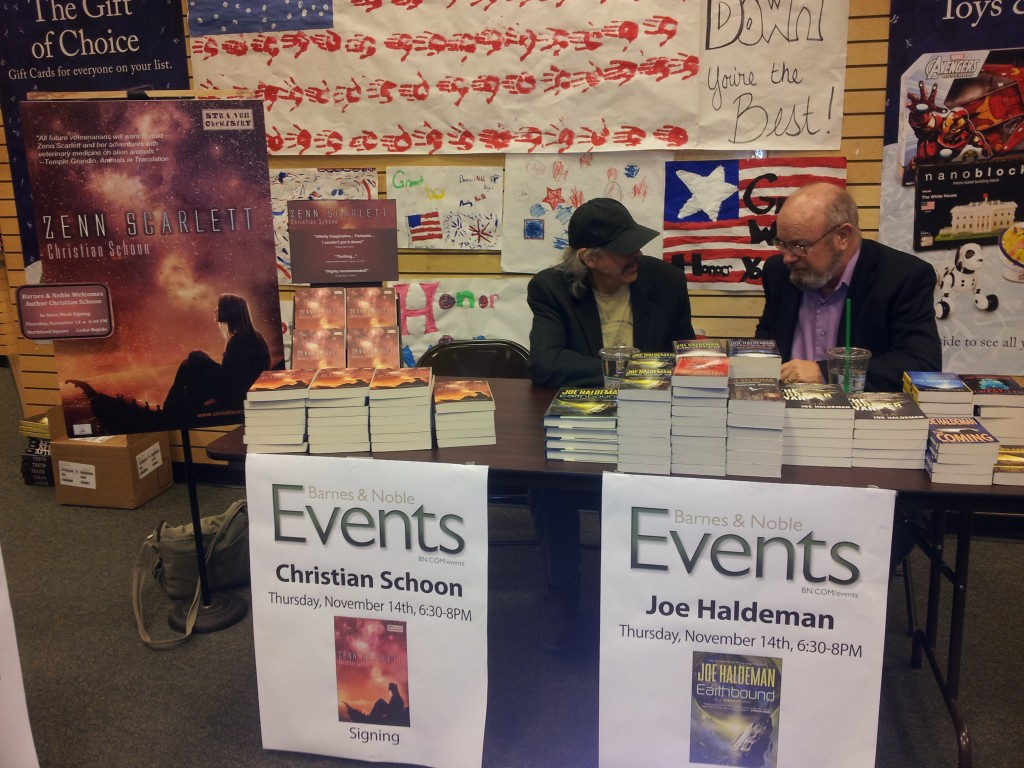 barnes and noble christian with joe haldeman